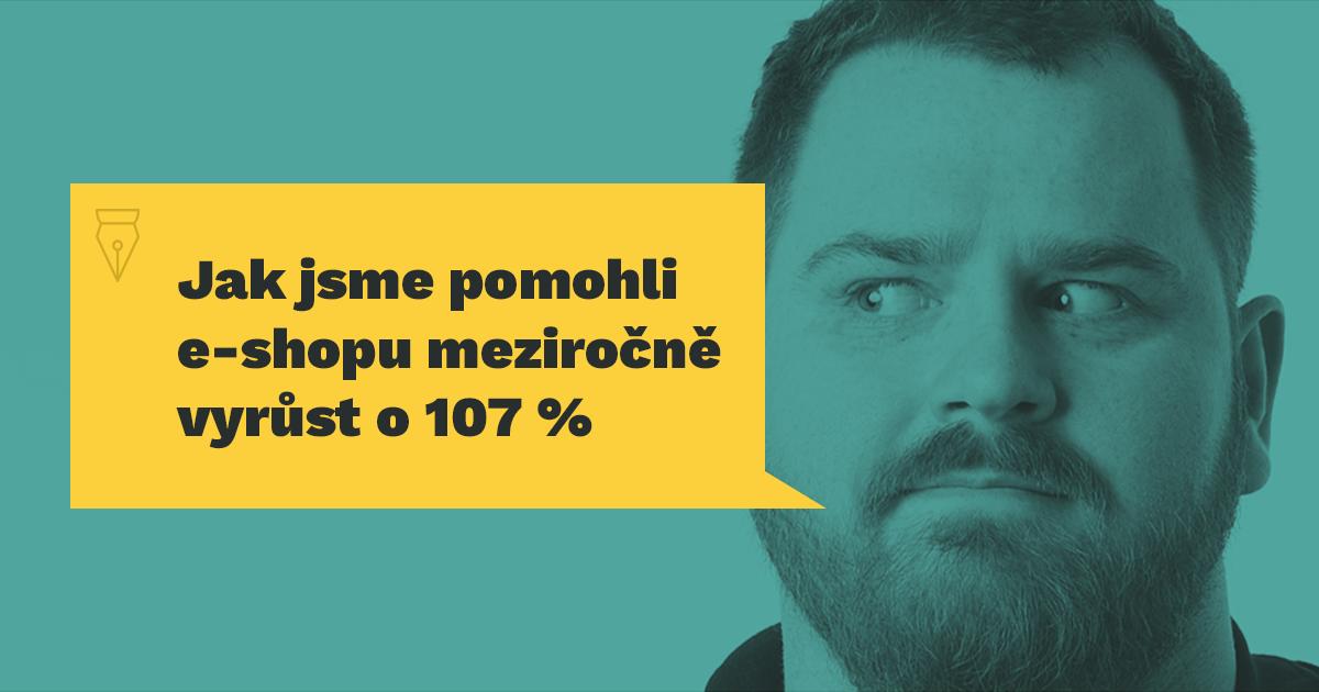 Jak jsme pomohli e‑shopu meziročně vyrůst o 107 %